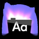 Aurora Text icon