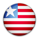 of, liberia, flag icon