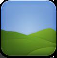 Landscape, Weather icon