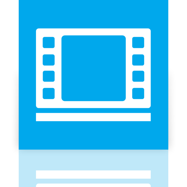 videos, library, mirror icon