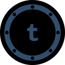 posts, network, circle, social, rounded, media, btn icon