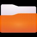 folder, accept, drag icon