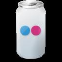 flickr, drink icon