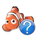 help,fish,animal icon