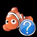 help,fish,animal icon