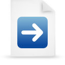 blue, file, document, paper icon