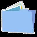 Alt, Blue, Folder, Pictures icon