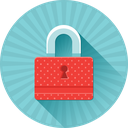 secure, lock, protection, password, safe, key icon