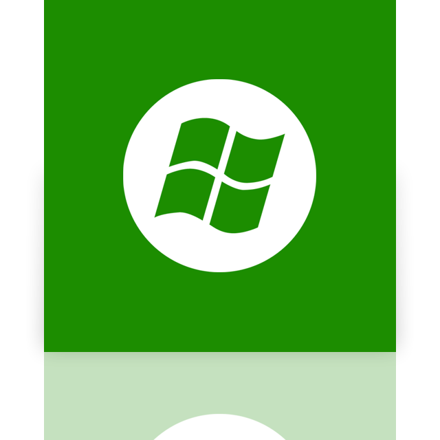 mirror, center, window, media icon