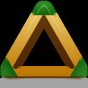 triangle, sport icon