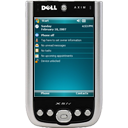 phone, smart phone, cell phone, dell axim x51v, cellular phone icon