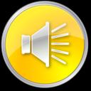 volume,normal,yellow icon