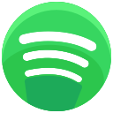 communication, streaming, media, network, spotify, social, online icon
