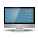 computer, desktop icon