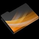 powerpoint,dark,ppt icon