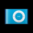 ipod,shuffle,blue icon