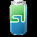 stumbleupon, drink icon