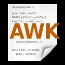 awk, application icon