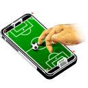 cell phone, game, mobile phone, smartphone, apple, soccer, iphone, footbal, gaming, sport icon