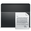 document, paper, folder, file icon