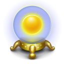 weather, magic, sunny, orb, sun, base icon