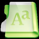 Font, Gr, Summer icon