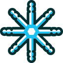 christmas, xmas, winter, flake, snowflake, snow icon