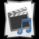 music, film, movie, file, document, paper, video icon