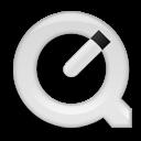 quicktimeplayer,white icon