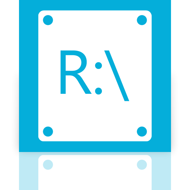 mirror, r icon