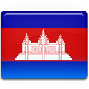 flag, country, cambodia icon