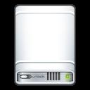 hard disk, media, hard drive, external, hdd icon