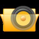 speaker,folder,sound icon