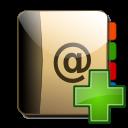 Address, Book, New icon