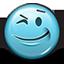 smiley, wink, emot, smiley face, flirty, winking icon