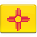 mexico, new, flag icon