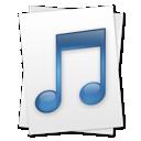 music, file icon