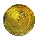 webmoney, gold, coin, ant icon