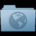 Sites Folder Blue icon