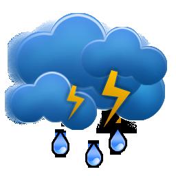 Weezle Night Thunder Rain Icon Weezle Icon Sets Icon Ninja