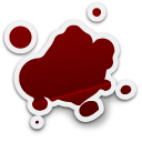 blood, splatter icon