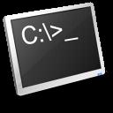 terminal, dos icon