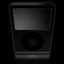 ipod, black icon