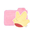 Ak, Birdie, Candy, Folder icon