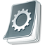 configure, setting, configuration, preference, file, option, document, paper, config icon