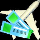 Air tickets icon