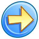 forward, arrow, right, ok, next, yes, correct icon