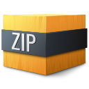 zip, mime, gnome icon