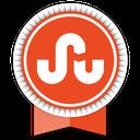 social, ribbon, stumbleupon icon