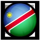of, namibia, flag icon